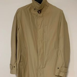 Brooks Brothers Cotton Overcoat/ Top coat/ Trench